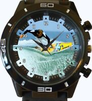 Wind Surfer Surfing Beautiful New Gt Series Sports Unisex Gift Watch