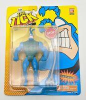 "NEW Hurling Tick THE TICK 6"" Figure Series II Fox Kids BanDai 1995 NIB"