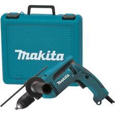 MAKITA Hammer Drill Corded HP1641K Keyless Chuck Side Handle Depth Gauge Case