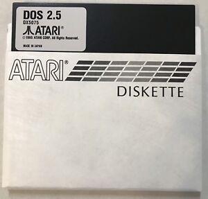 Atari DOS 2.5 SINGLE DENSITY SD Master 5 1/4 disks 2 each for 800,XL, XE