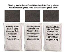 Abrasive Sand Blasting Sandblasting Media Garnet Grit Granule Fine Medium Course