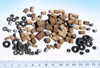 120+ Miniature boxes barrels tyre junk props HO OO scale diorama model railway