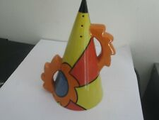 "Lorna Bailey ""SUNSET"" Sugar Shaker. Collectors Club Exclusive"