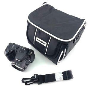 Black Backpack SLR Case Camera Bag Waterproof for Canon Nikon Sony SLR DSLR UK
