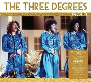 The three degrees  GOLD 3 CD SET (40 TRACK COLLECTION) new sealed