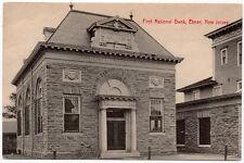 Postcard First National Bank in Elmer, New Jersey~106282