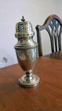 Walker & Hall antique sterling silver cheese shaker