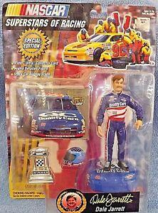 1997 Toy Biz NASCAR Superstars of Racing Dale Jarrett Special Edition w/Card