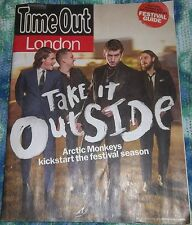Time Out London 5/20/2014 Arctic Monkeys Alex Turner MIA Joe Mount Metronomy