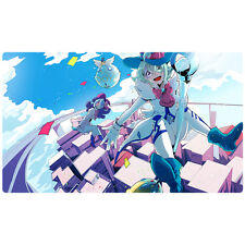 FREE SHIPPING Custom Yugioh Playmat Windwitch - Ice Bell RATE-EN007