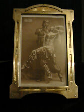 GORGEOUS , RARE,  ART DECO SILVERPLATE AND MOTHER OF PEARL PHOTO FRAME