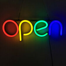 Led Neon Colorful Sign Light Pvc Board Business Light Shop Wall Decor