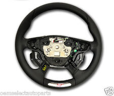 OEM NEW 2012-2013 Ford Focus ST Logo Steering Wheel - WITH MyFord Touch- Leather