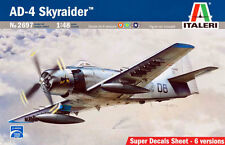 ITALERI 2697. AD-4 Skyraider. Kit para montar- Assembly kit 1/48