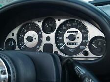 CRUSCOTTO, MAZDA MX-5 MK1 MX5 + HRW, S / S Dial Surround Trim Jass INOX