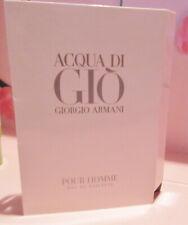 Giorgio Armani Acqua Di Gio Pour Homme edT  .04oz/1.2mL Trial Spray Vial NEW