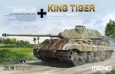 Meng 1/35 Sd.kfz.182 King Tiger (porsche Torretta) Tedesco Carro pesante #ts-037