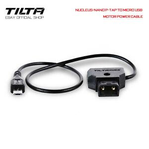 Tilta Nucleus-Nano P-TAP to Micro USB Motor Power Cable kamera Kabel Ladekabel