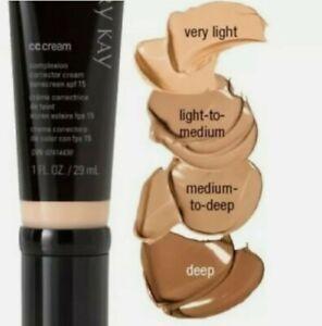 Mary kay cc cream spf 15 Light to Medium  shade