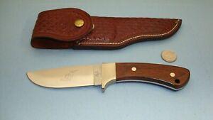 """1965 - 1980 CASE XX USA R603 SSP PAWNEE  4 1/4"""" FIXED BLADE KNIFE W/ SHEATH"""