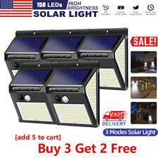 150LED 3Modes Solar Power Spotlight Garden Lamp Landscape Light Waterproof IR