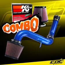 For 99-03 Mitsubishi Galant 3.0L V6 Blue Cold Air Intake + K&N Air Filter