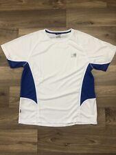 Karrimor White And Blue Short Sleeve T Shirt Running Mens Medium