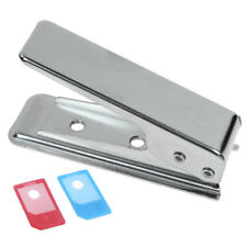 NEW MOBILE PHONE MICRO SIM CARD CUTTER PUNCH for iPhone 4 4G iPad with ADAPTOR