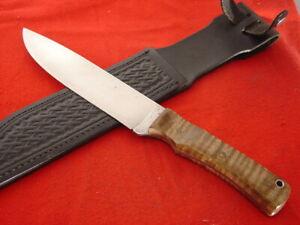 """Custom handmade 11.5""""  fixed Blade Full Tang Knife"""