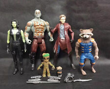5pcs Guardians of The Galaxy Vol. 2 Star-Lord Baby Groot Raccoon Action Figure
