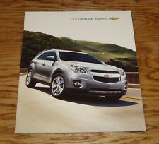 Original 2011 Chevrolet Equinox Sales Brochure 11 Chevy LS LT LTZ