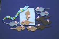 """Mouse Count"" Children story flannel board/ felt set"
