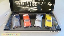 1:43 GMP 1970 Yenko Deuce Chevrolet Nova LT1 350, 4 Car Set, Serial # 032