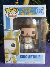 Funko Pop Movies Monty Python And The Holy Grail #197 King Arthur ~( Vaulted )