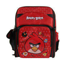 Brand New Angry Birds Red School Bag Backpack Back Pack 360-Degree