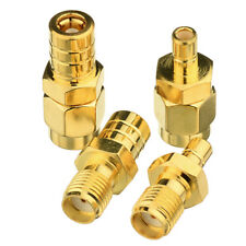 New listing Satellite Radio Coaxial Adapter Connector Sma to Smb 4 Type Kit for Car Xm Dab