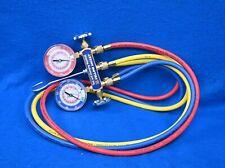 Yellow Jacket Mechanical Test Amp Charging Manifold Gauge Set 42004
