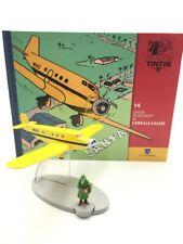 En Avion Tintin l'avion de bazaroff l'oreille cassée  N14 + livret