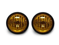 FREIGHTLINER COLUMBIA 2000-2015 FRONT BUMPER DRIVING LAMPS FOG LIGHTS PAIR AMBER