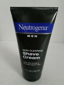 Neutrogena Mens Skin Clearing Shave Cream 5.1 oz