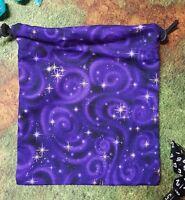 Purple Starry Sky Dice Bag