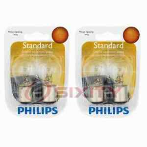 2 pc Philips Tail Light Bulbs for Honda Accord Civic Civic del Sol Prelude dk