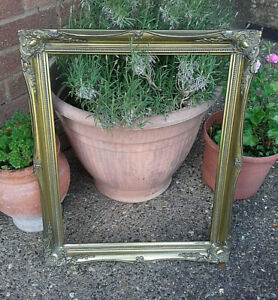 Gorgeous Antique Reproduction Gilt Wall Picture Frame Home Decor