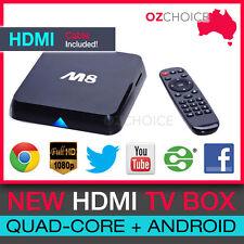 M8 Quad Core Android 4.4 TV Box Smart HD Movie Player 4K 3D XBMC HDMI Internet