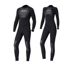 Womens Mens Wetsuits 3mm Back Zipper Full Body One-piece Wet Suit Diving Suit~