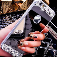 Luxury Bling Glitter Shockproof Soft Silicone Case Cover For iPhone Samsung S7