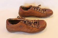 Women's BORN Brown Two-Tone Leather Casual Oxfords Size 8