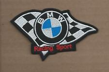 New 2 1/2 X 4 1/4 Inch Bmw Racing Sport Iron On Patch Free Shipping
