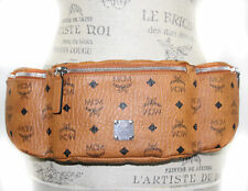 NEW MCM Visetos Coated Canvas Large Sling Waist Bag Fanny Pack