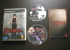 JEU Sony PLAYSTATION 2 PS2 : PRIMAL Edition COLLECTOR (envoi suivi)